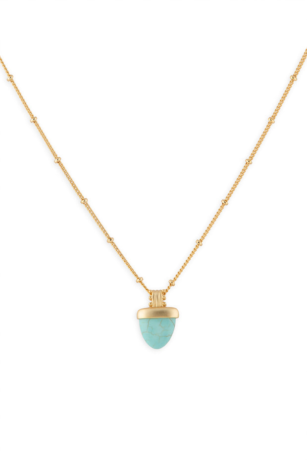 Ashley Childers, Aegean Necklace Turquoise