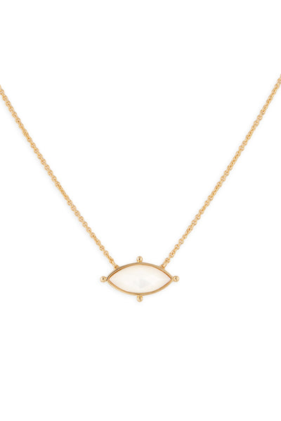 Ashley Childers, Lauren Necklace Ivory MOP