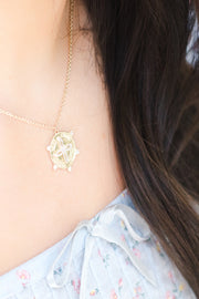 Ashley Childers, Thrive Coin Necklace