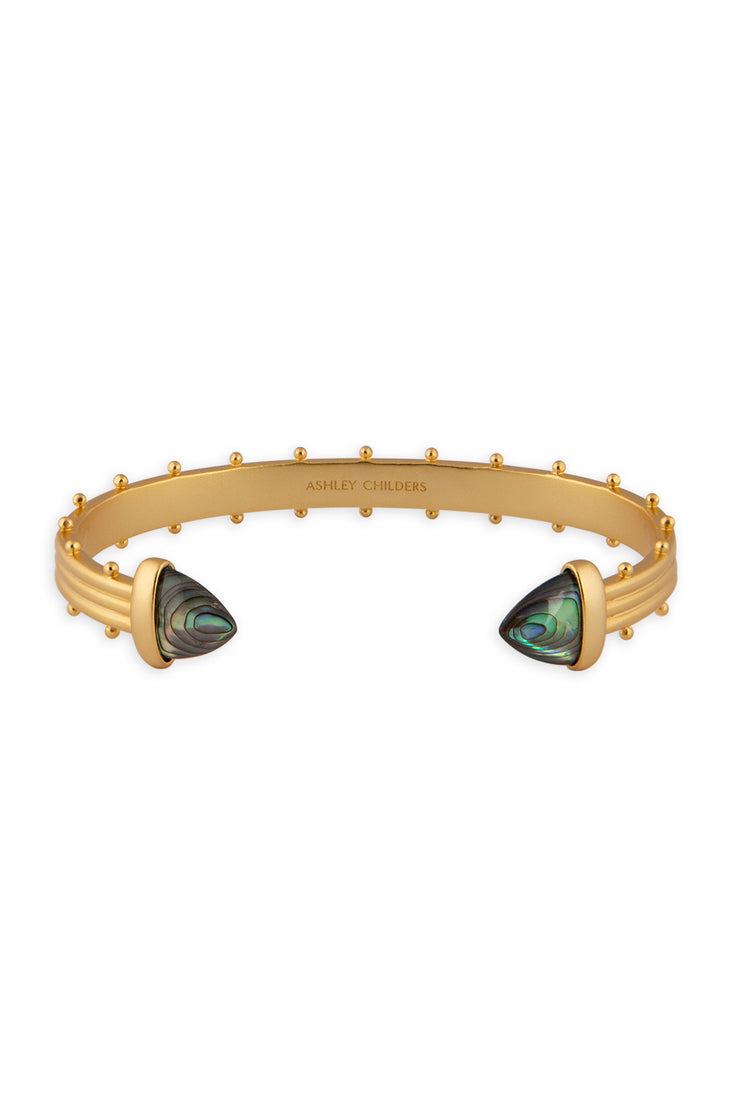 Ashley Childers, Aegean Cuff, Abalone