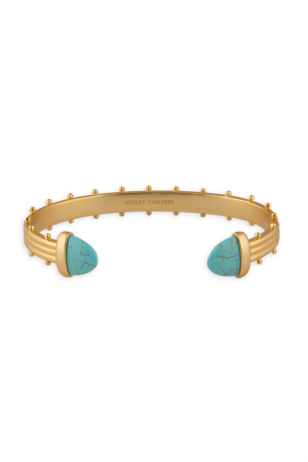 Ashley Childers, Aegean Cuff, Turquoise