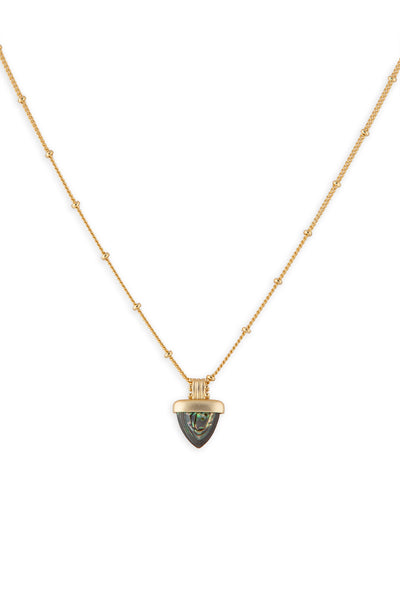 Ashley Childers, Aegean Necklace, Abalone