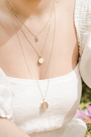 Affirmation Layered Necklace, Love