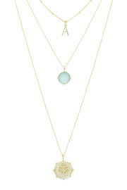 Ashley Childers, Affirmation Layered Necklace, Thrive