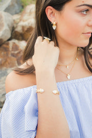 Ashley Childers, Aegean Cuff, Ivory Mother of Pearl