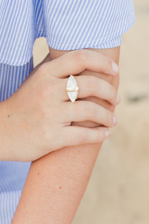 Ashley Childers, Aegean Ring Mother of Pearl