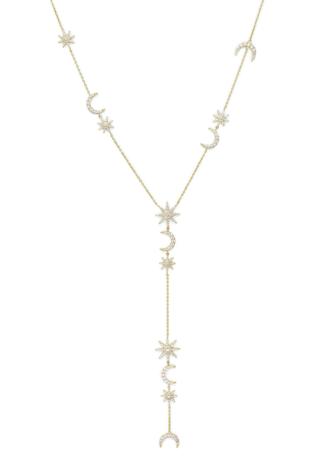 Ashley Childers, Celeste Necklace, Gold