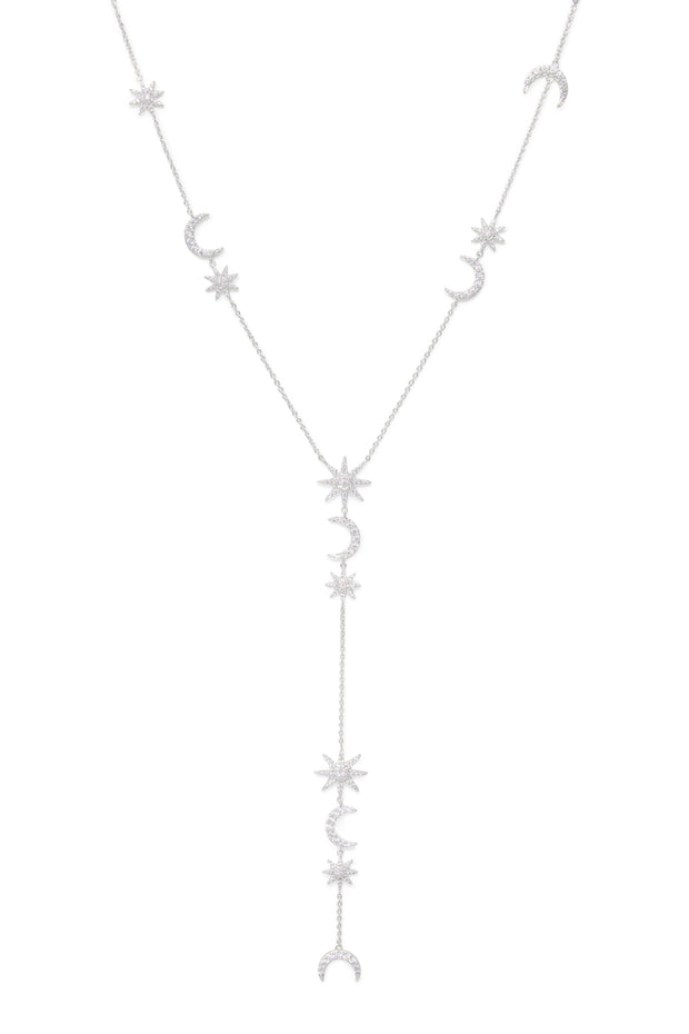 Ashley Childers, Celeste Necklace, Silver