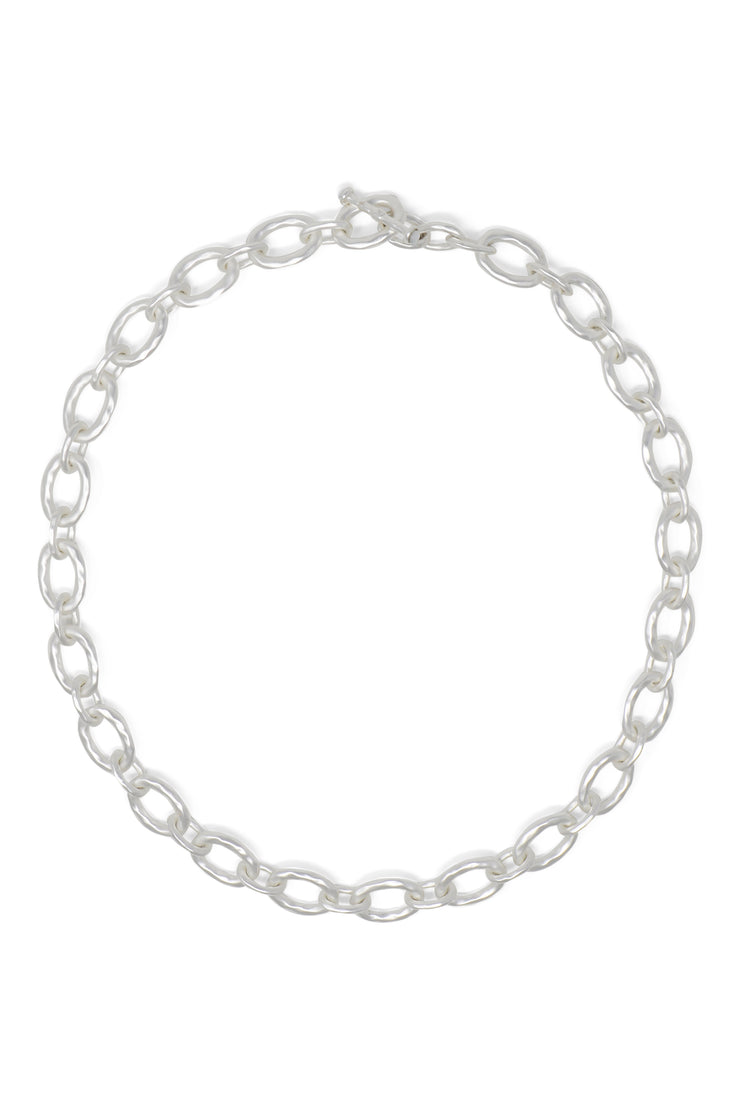 Ashley Childers, Classic Silver Link Necklace