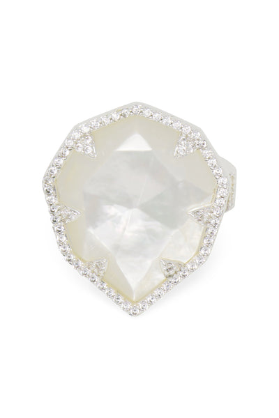Ashley Childers, Geo Mother of Pearl Statement Ring