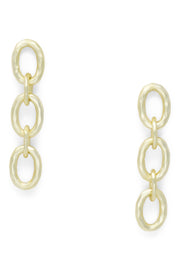 Ashley Childers, Classic Gold Link Earrings