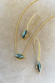 Ashley Childers, Lauren Abalone Necklace