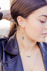 Ashley Childers, Lauren Abalone Earrings