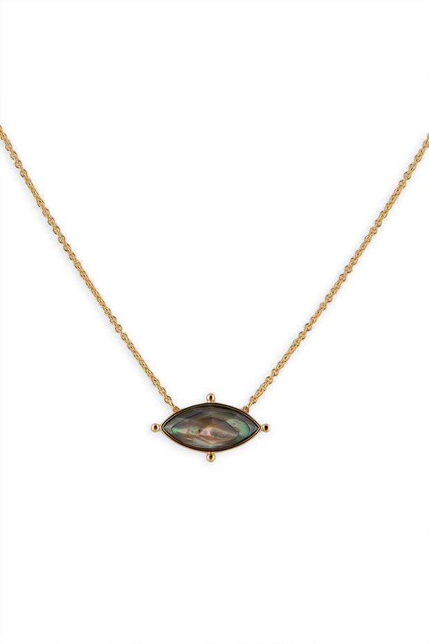 Lauren Necklace, Abalone