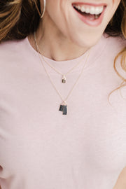 Ashley Childers, Love Lock Necklace