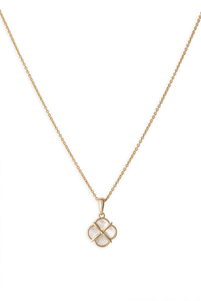 Ashley Childers, Quatrefoil Petite Necklace