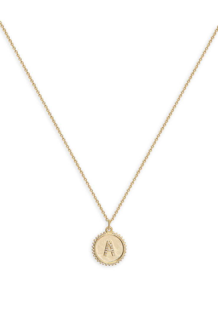 Ashley Childers, Sol Initial Necklace