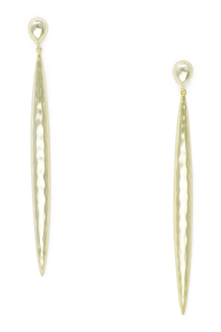 Ashley Childers, Thorn Gold Earrings