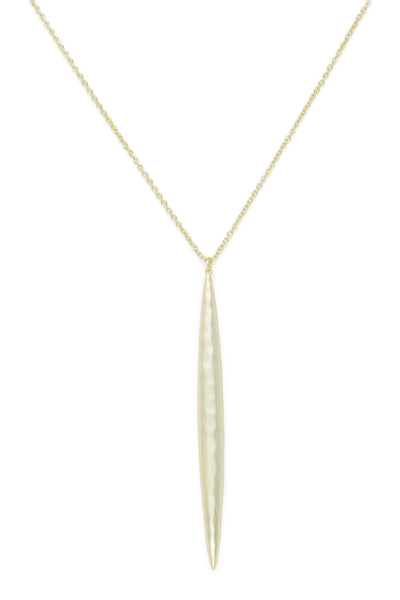 Ashley Childers, Thorn Gold Necklace