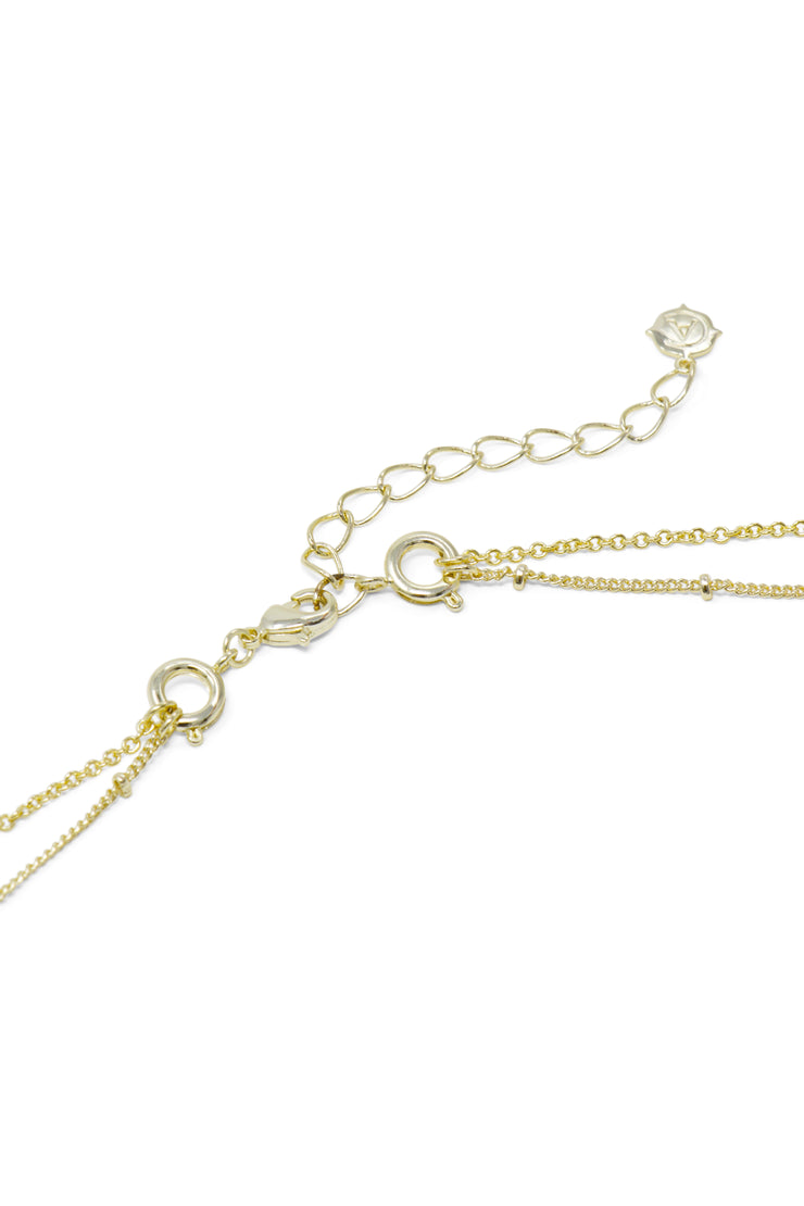 Ashley Childers, Zodiac Layered Necklace Convertible Clasp