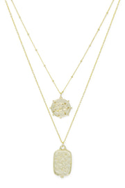 Ashley Childers, Zodiac Layered Necklace, Pisces