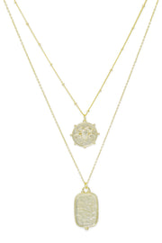 Ashley Childers, Zodiac Layered Necklace, Aries