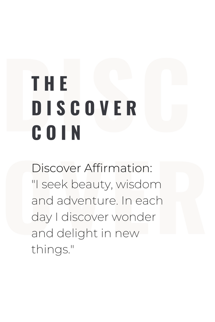 Ashley Childers, Discover Coin