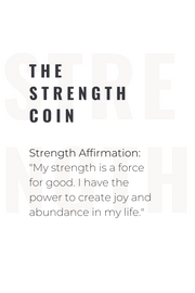 Ashley Childers, Strength Coin