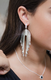 Ashley Childers, Waterfall Statement Earrings