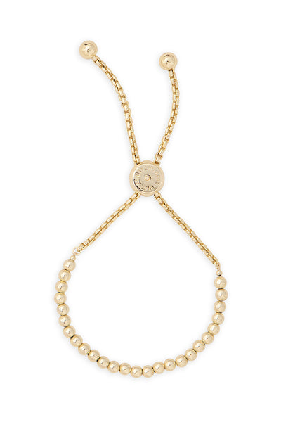 Ashley Childers, Gold Love Bead Bracelet, Small