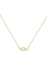 Ashley Childers, Love Knot Necklace