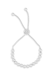 Ashley Childers, Love Beads Bracelet, Silver