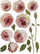 Load image into Gallery viewer, Painterly Florals Decor Transfer