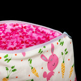 Rabbit Makeup Bag Carrots
