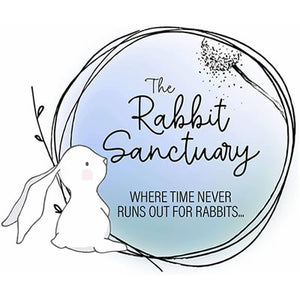 Rabbit Sanctuary Sticker x 3 FREE POSTAGE