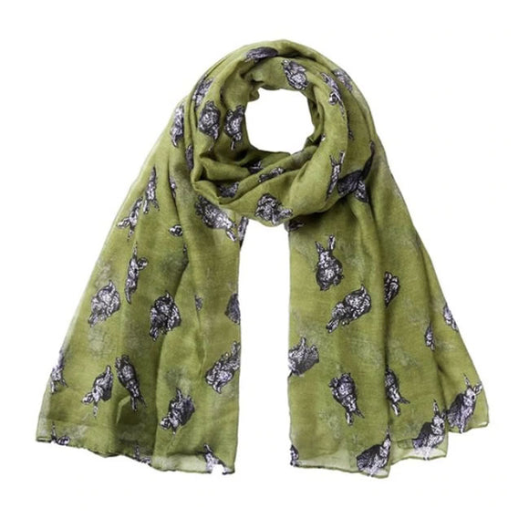 Bunny Scarf Olive