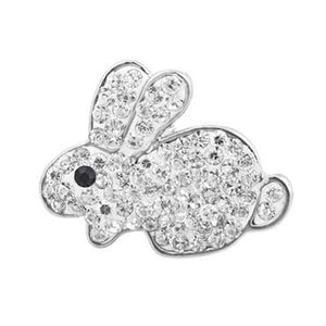 Diamante Rabbit Snap On