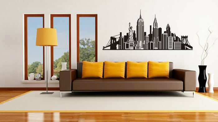 VINILO DECORATIVO CITY NY DEKOADHESIVO
