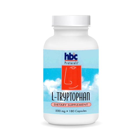 Image of L-Tryptophan - 180 Capsules