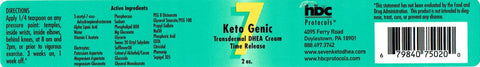 7-KetoGenic Ultra Absorbent Cream