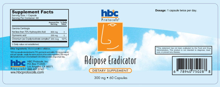 Adipose Eradicator - 120 Tablets