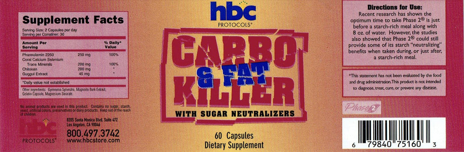 Carbo Killer - 60 Capsules