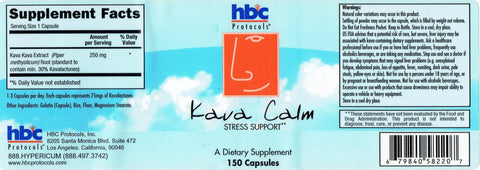 Image of Kava Calm - 150 Capsules