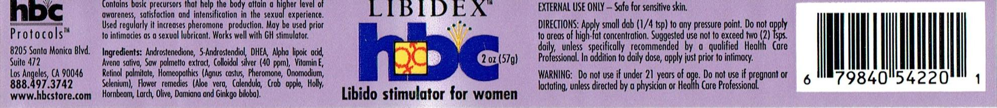 LIBIDEX TRANSDERMAL CREAM