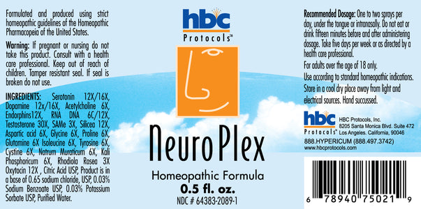 NEUROPLEX HOMEOPATHIC FORMULA