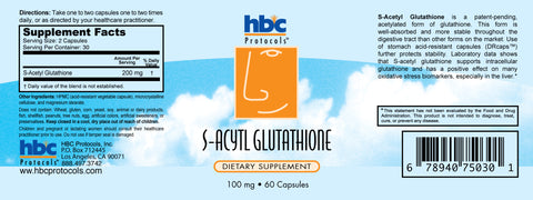 Image of S-Acetyl Glutathione - 60 capsules