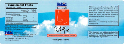 Image of SAMe - 60 Tablets