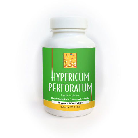 Research Grade St Johns Wort - HYPERICUM PERFORATUM