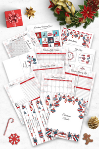 Christmas Binder with Craft and Activities for the Kids