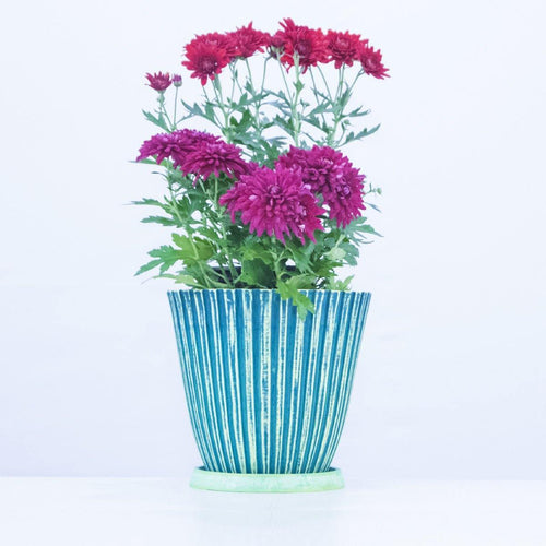 20 cm Glazed Planter - Jagtap Nursery's Garden Center
